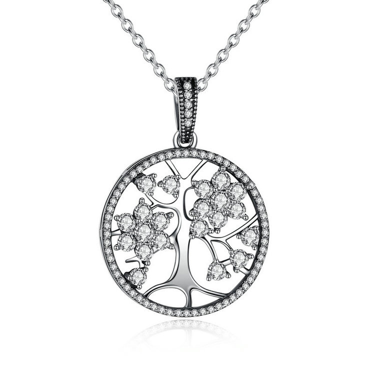 mother jewelry our family personalized products audrey nameplate silver birthstone name necklace engraved tree madison