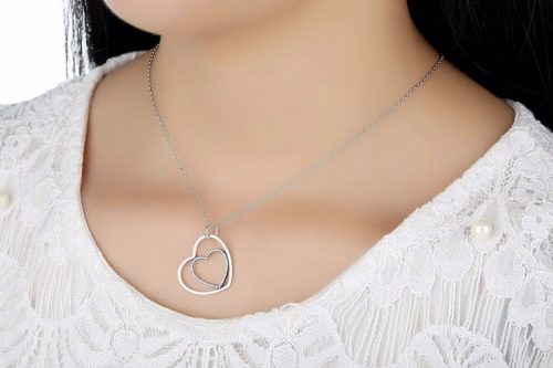 FOREVER IN MY HEART PENDANT NECKLACE No.390364CZ-90