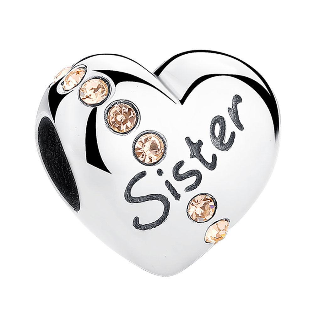 63cb24997 Alengio Charm Sister Love Pandora