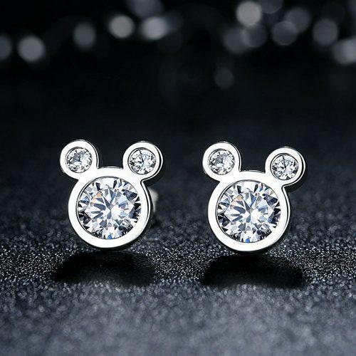 Disney, Dazzling Mickey Earrings