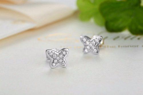 petite butterfly earrings girls