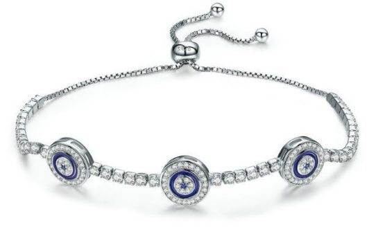 lucky eye evil eye bracelet