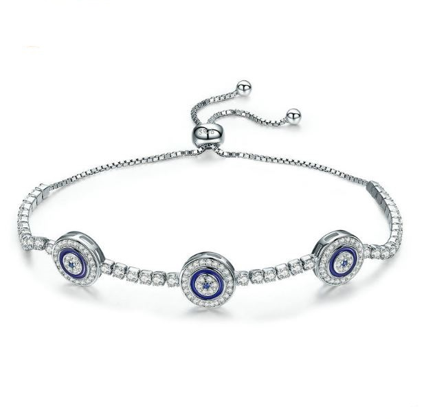Evil Eye Necklace By Destiny Jewellery Silver Jewellery sale