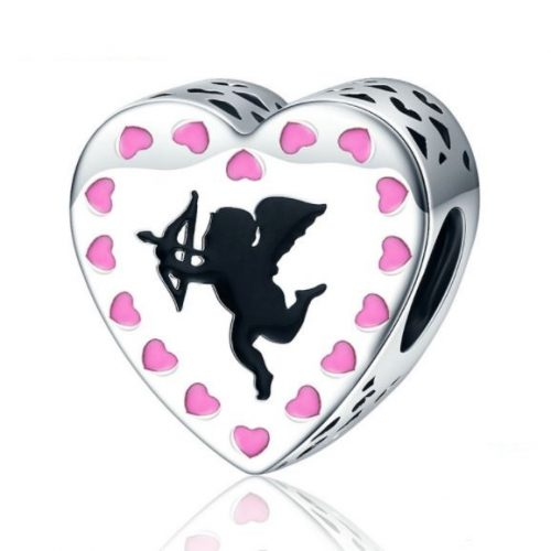 Cupids Heart love charm