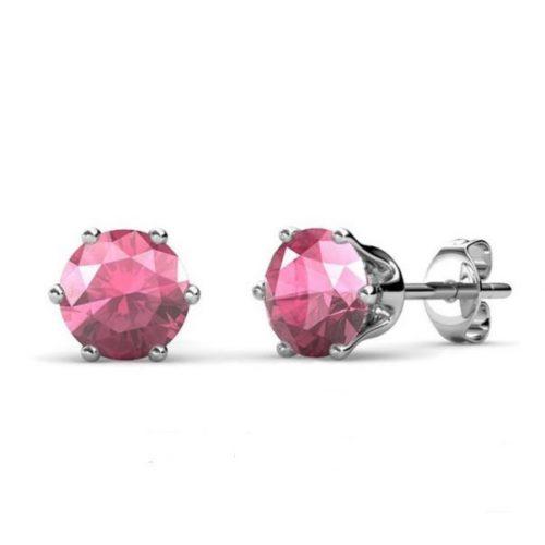 Swarovski crystal october earrings