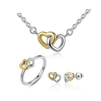 entwined hearts gift set