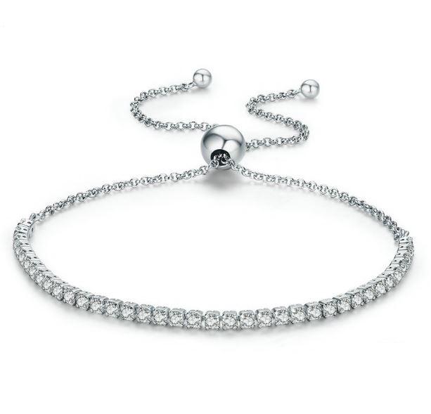 Sparkling Strand Bracelet Item #590524CZ